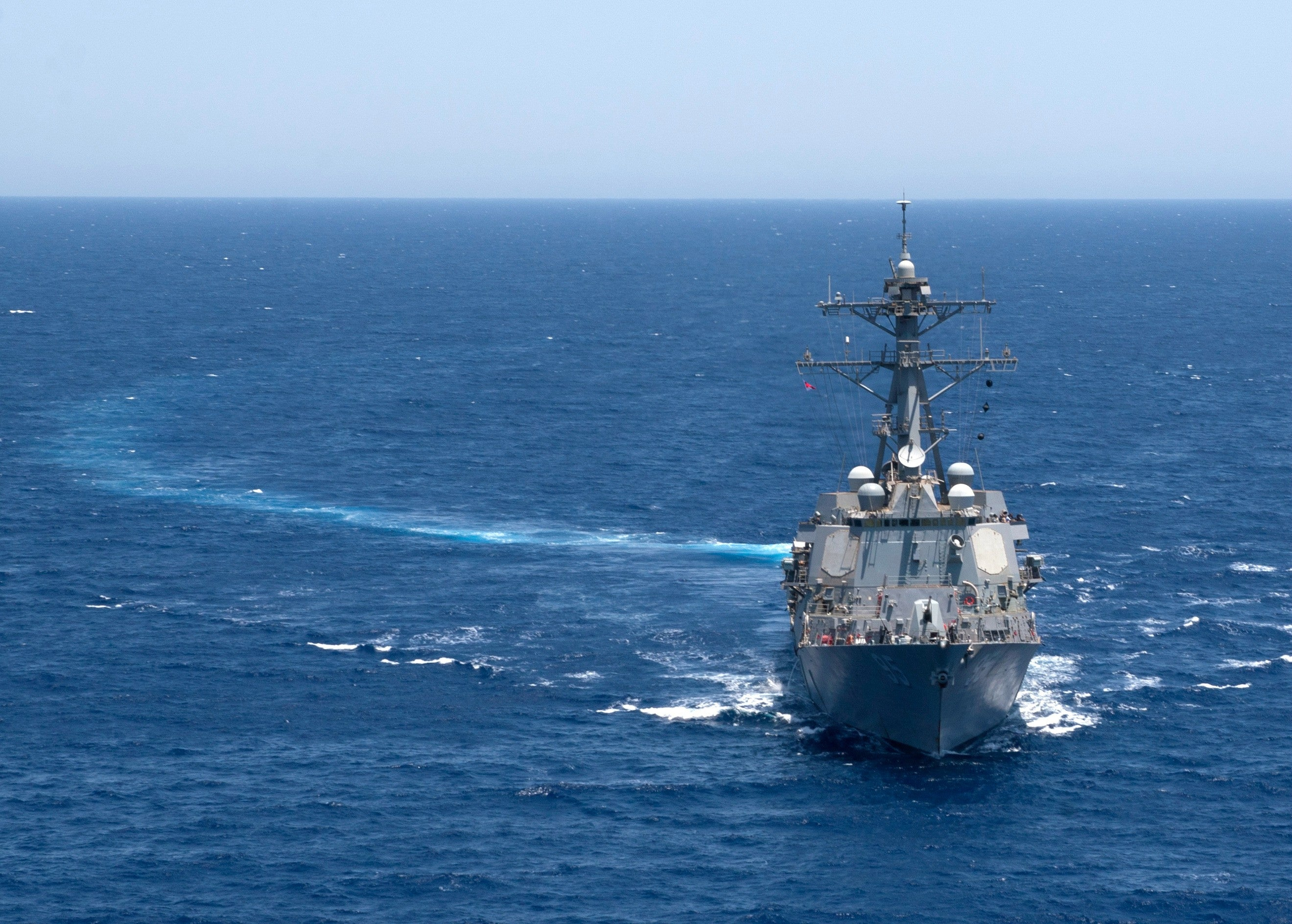 "USS James E. Williams DDG-95 Red Sea June 14, 2012 - 5 x 7"" Photograph"
