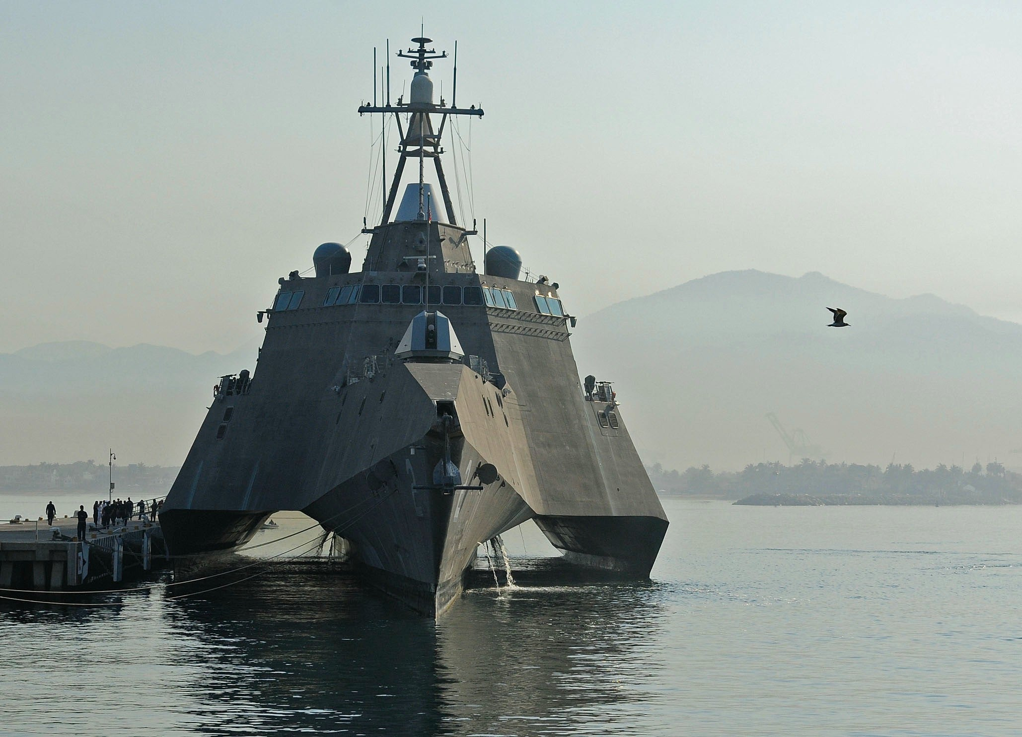 "USS Independence LCS-2 Manzanillo, Mexico April 23, 2012 - 5 x 7"" Photograph"
