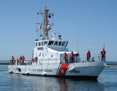 "Coast Guard USCGC Blue Shark WPB-87360 Everett, WA July 19, 2005 - 8 x 10"" Photograph"