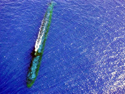 "USS Chicago SSN-721 off the Coast of Malaysia (Jul. 24, 2001) - 8 x 10"" Photograph"