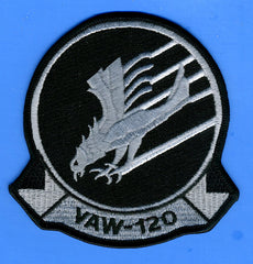 "Carrier Airborne Early Warning Squadron 120 (VAW-120) Patch 4"" Wide x  4"" High"