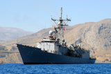 "USS De Wert FFG-45 SOUDA BAY, Greece (Aug. 24, 2011) - 4"" x 6"" Photograph"