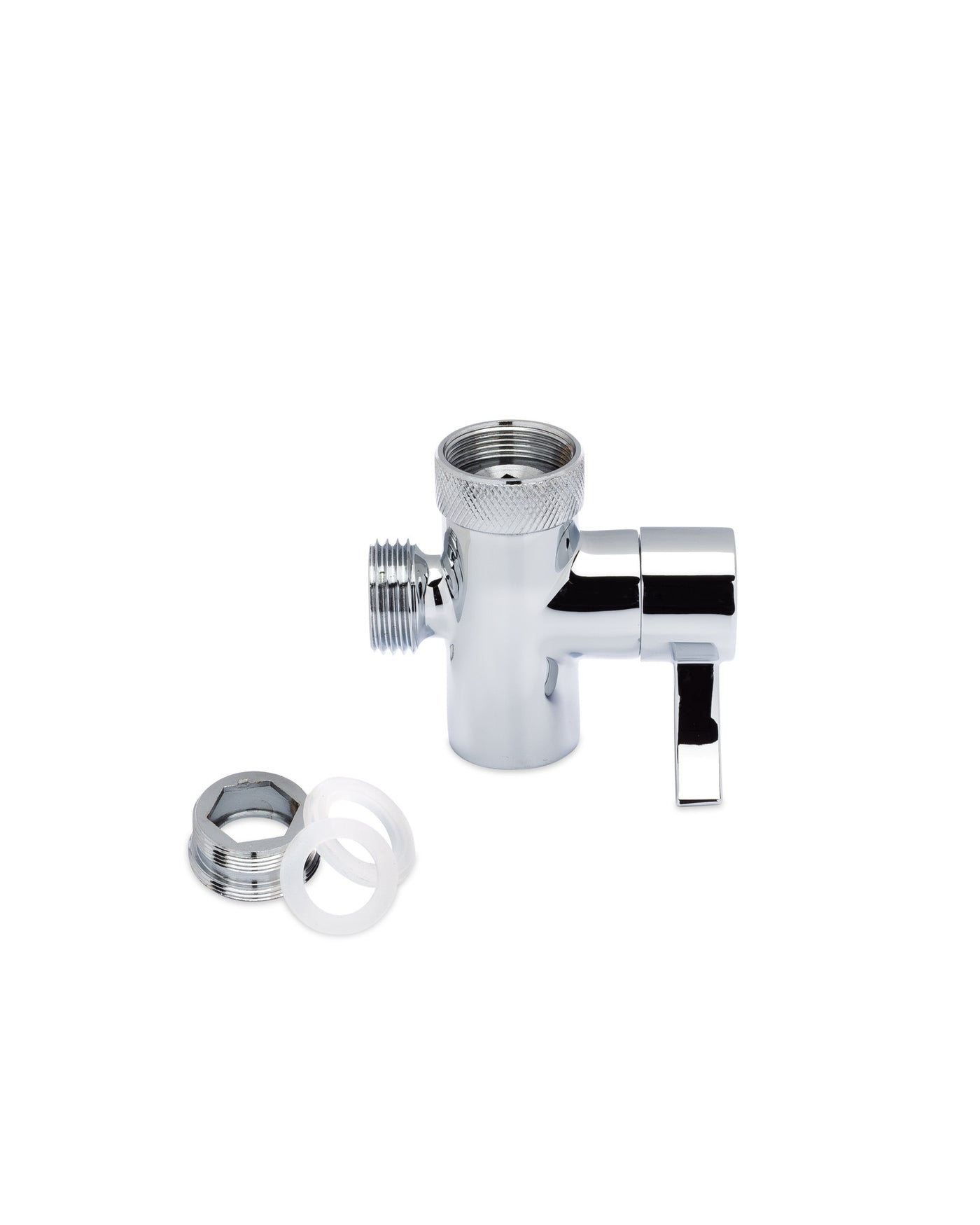 SmarterFresh Faucet Diverter Valve W/Aerator And Male Threaded Adapter