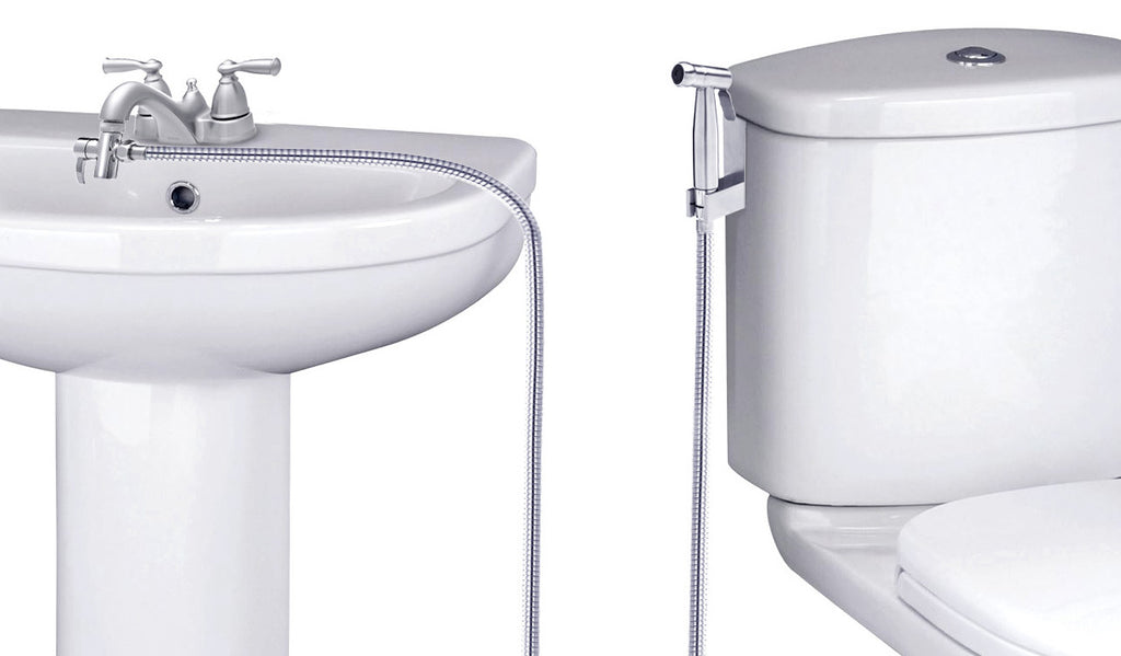 SmarterFresh Faucet Sprayer Warm Water Bidet