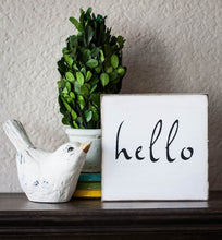 Hello Topiary Mini Box
