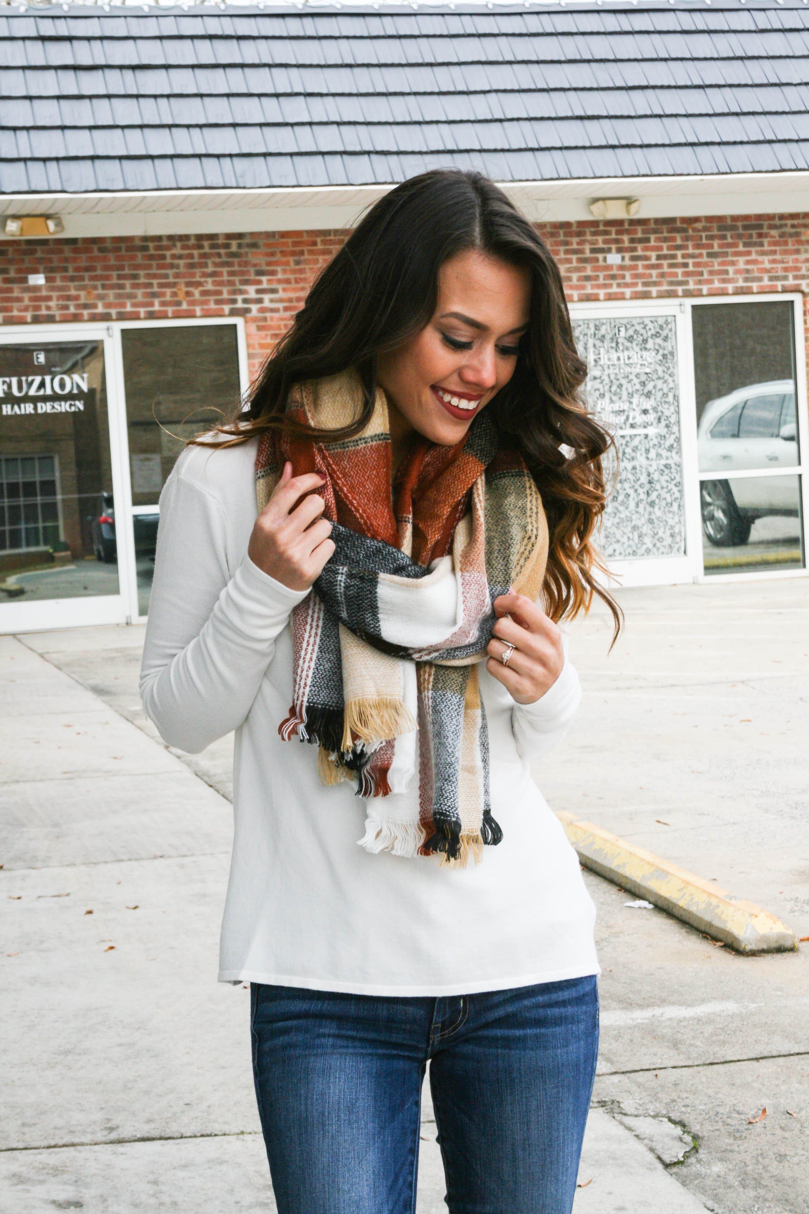 Timber Oblong Scarf