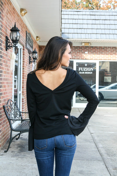 Sophia Bell Sleeve Top