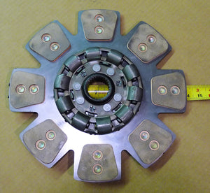 "Transmission clutch Disc 14"" 8 button White 100, 2-135, 140 Tractors & Cummins B Series engine conversion"