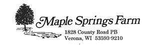 Maple Springs Farm LLC