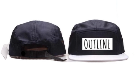 Outline Apparel - 5 panel snap back - Outline Apparel