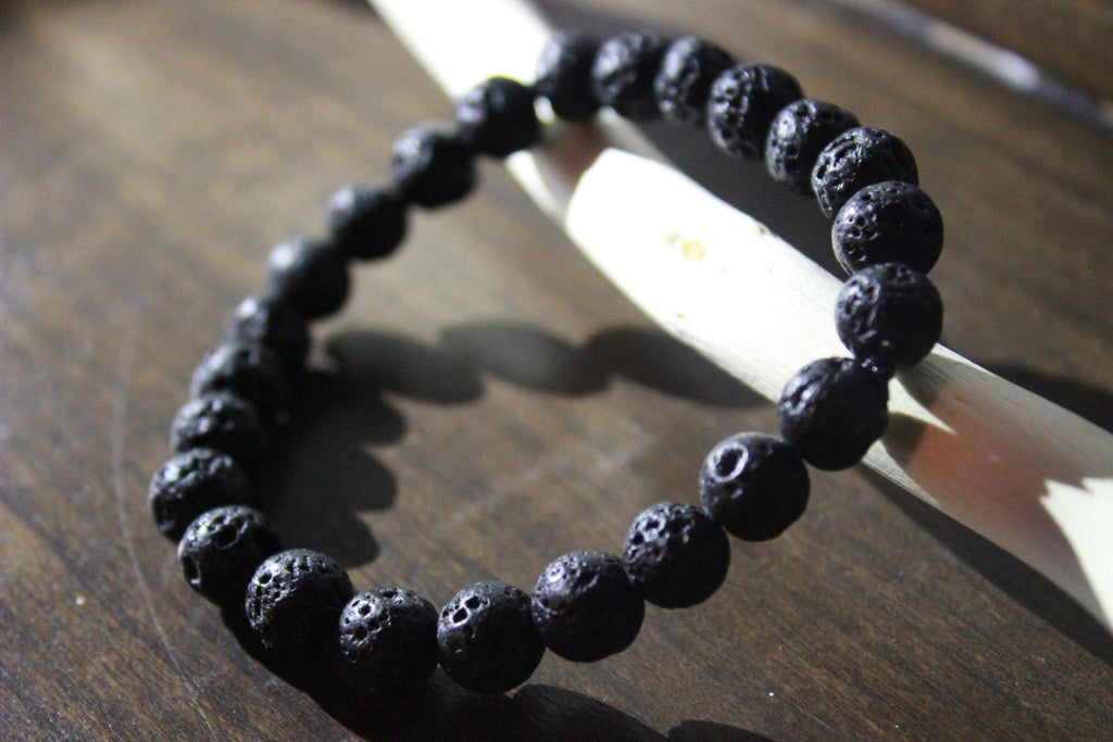 Healing Stone Bracelet - Lava rock - Outline Apparel