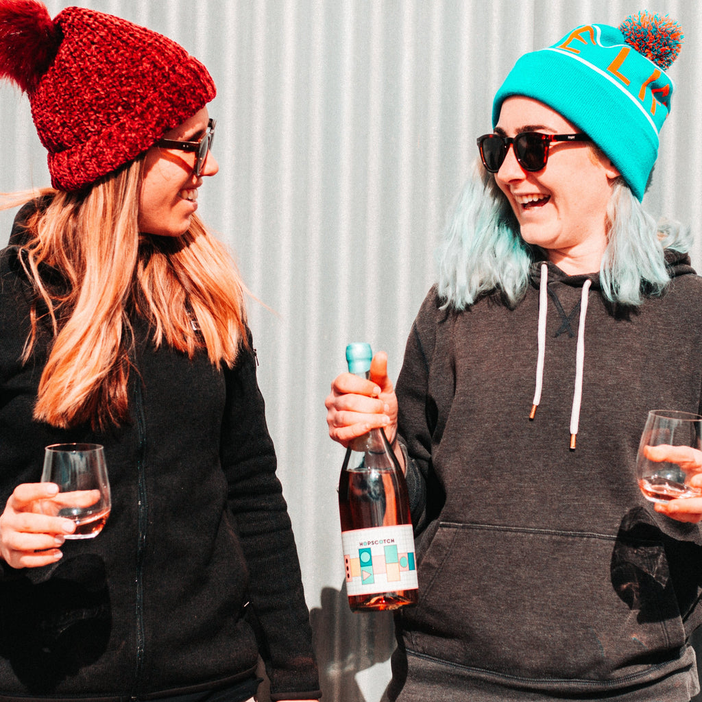 From Grape Beginnings: Megan Hume and Caroline Scappatura-Unico Zelo