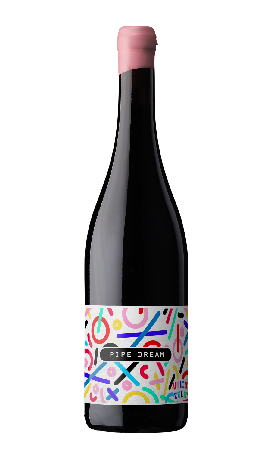 Unico-Zelo-Pipe-Dream-Wine-Label-Design