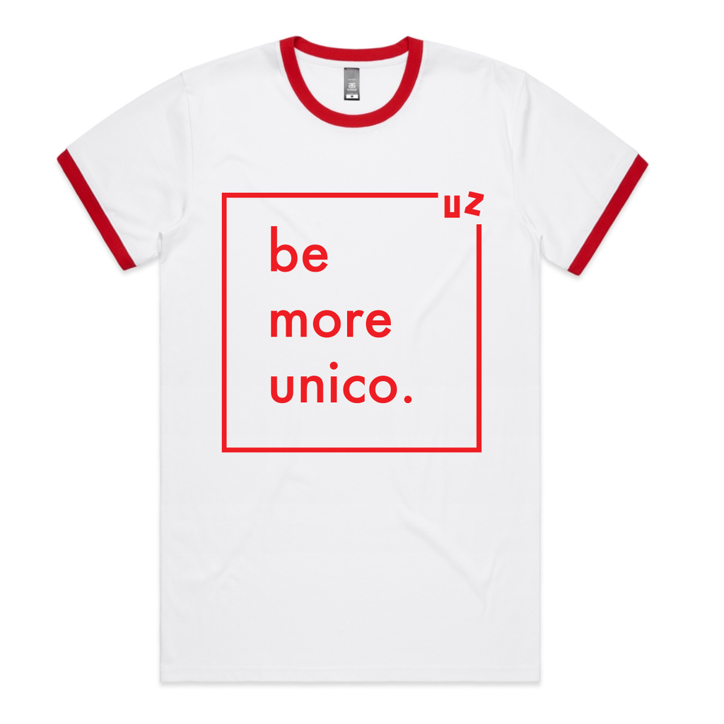 Unico Ringer Shirt-Wine-Unico Zelo