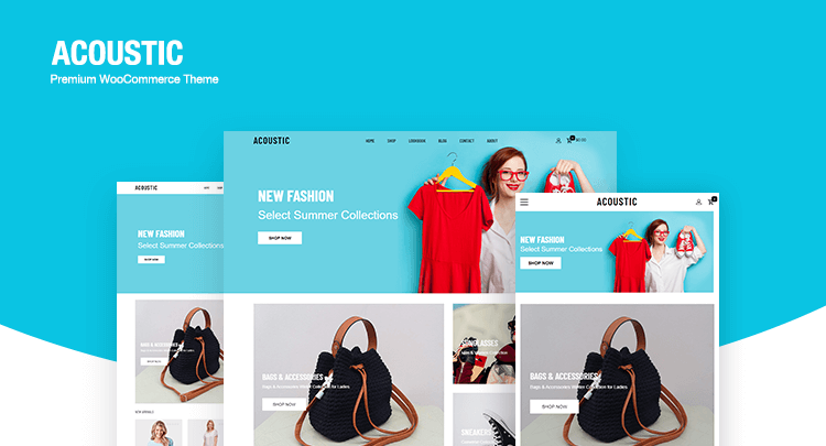 Install Acoustic WooCommerce Theme