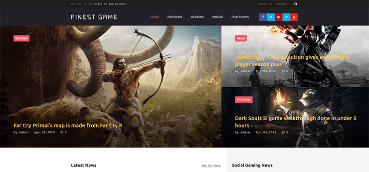 Best Premium WordPress Themes | 2016