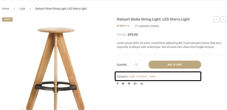 Remove Product Meta 'Categories' in a Product Page – WooCommerce