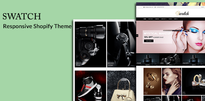 SWATCH - Responsive Shopify Theme