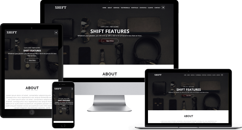 Shift Responsive View