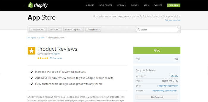product reviews shopify apps