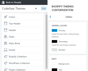 Shopify Theme Customization