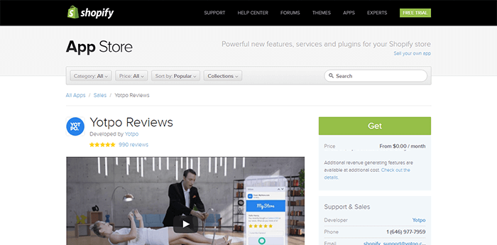 yotpo reviews shopify Apps