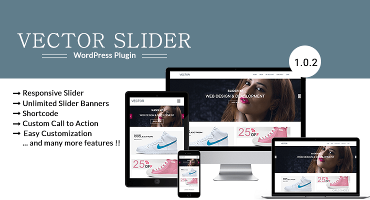 Vector Slider plugins Features