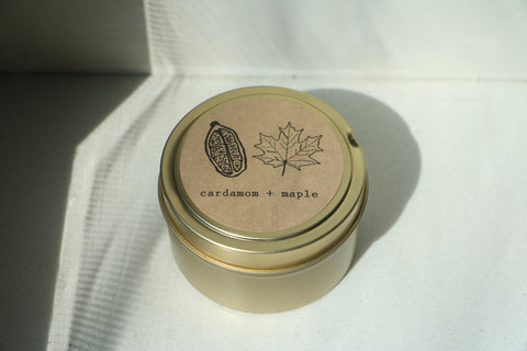 Cardamom + Maple (limited edition)