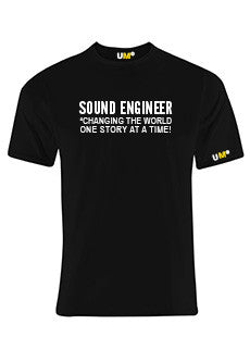 Sound Engineer | Black
