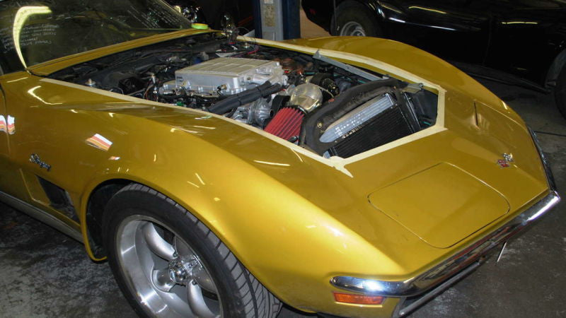 What A New Zr Engine Looks Like In An Old Corvette Jalopnik