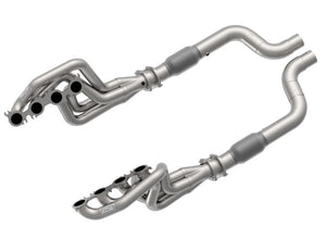 "2"" X 3"" HEADERS & GREEN CATTED CONNECTION KIT - 2020 MUSTANG GT500 5.2L"