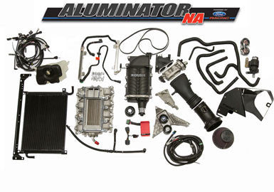 5.0L Ford Aluminator Engine - ROUSH Phase 3 - 675 HP Supercharger Kit