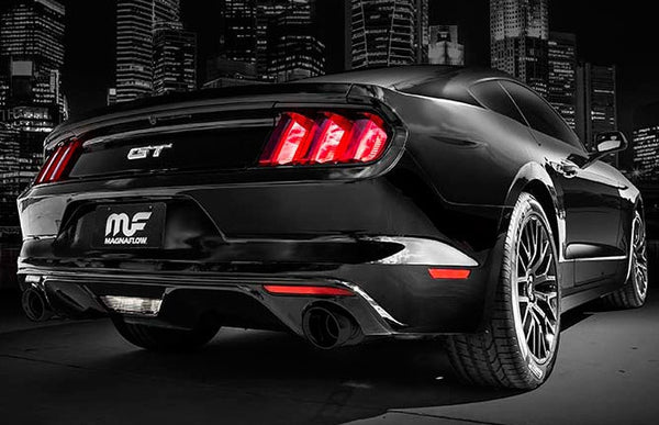 "Magnaflow Competition Series 3"" Cat-Back Exhaust with Black Coated Tips - 2015+ Ford Mustang (V8 5.0L)"