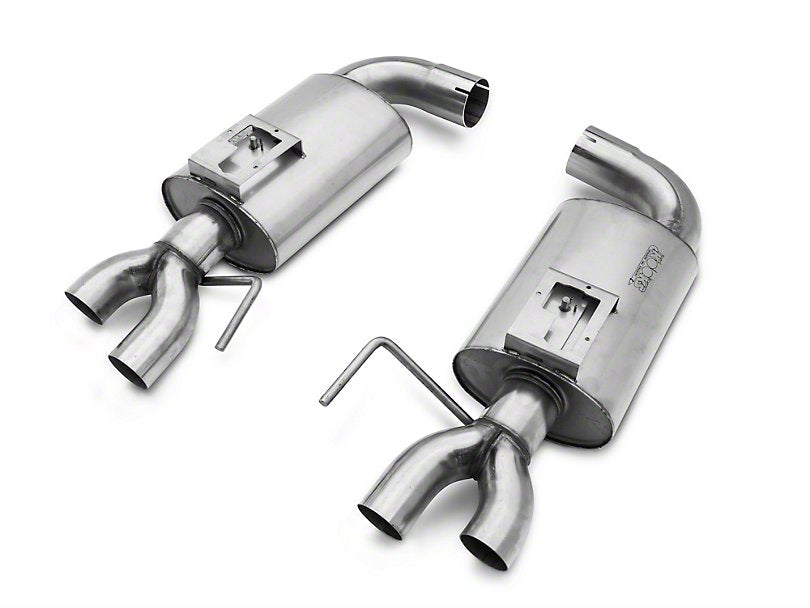 Kooks 3 in  Competition Catted Full Exhaust System - Natural (15-19 GT350)