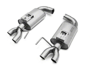 Kooks 3 in. Competition Catted Full Exhaust System - Natural (15-19 GT350)