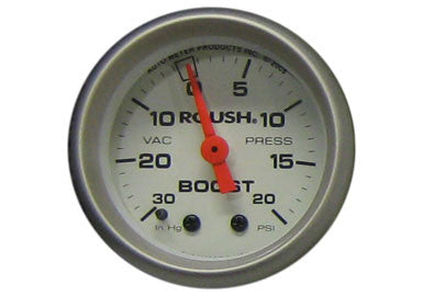 Ford Mustang Mechanical Boost Gauge, 2/16 White