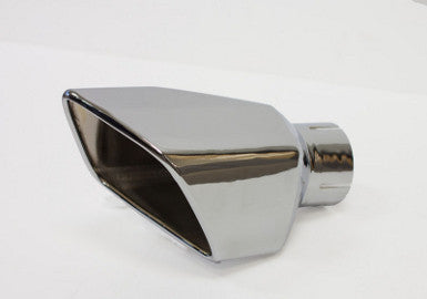 Mustang Square Exhaust Tip RH, Replacement 2011-2012