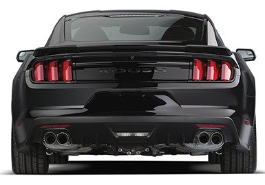 2015-2017 Mustang 2.3L EcoBoost ROUSH Quad Tip (Active Ready) Exhaust Kit - Convertible Only