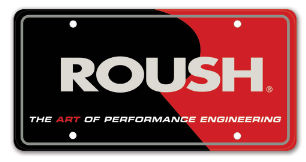 ROUSH LICENSE PLATE