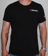 CANVAS S/S T-SHIRT-BLACK