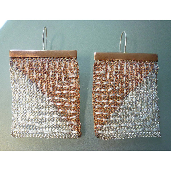 Milena Zu tapestry earrings