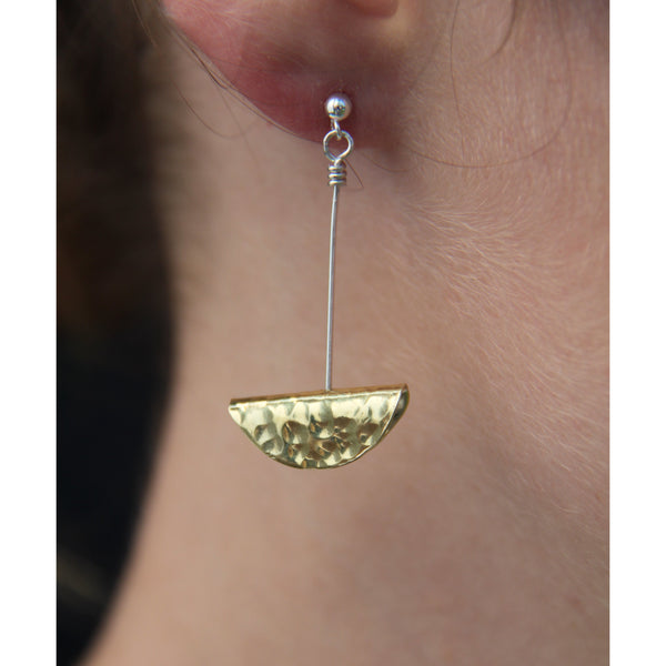 Dimple Drop Earrings