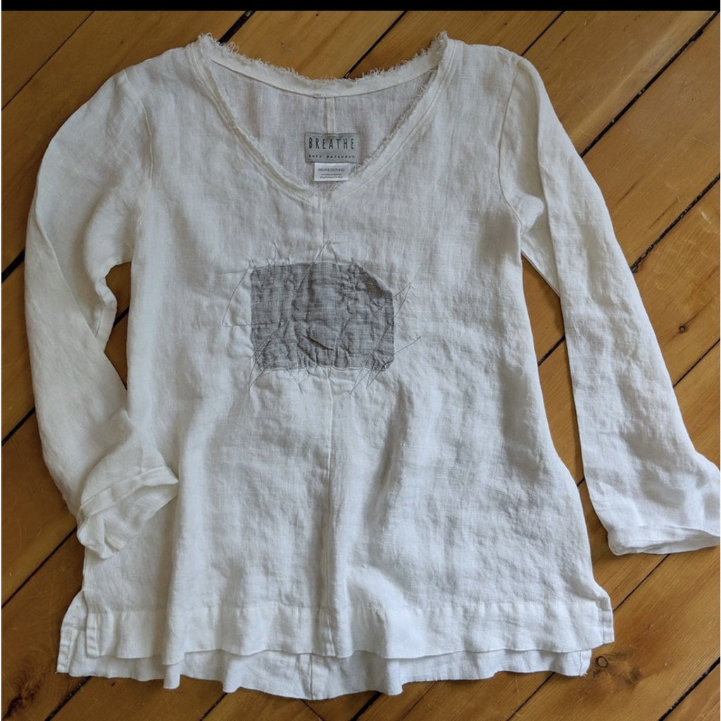 Linen Top - Ellie with Spirograph