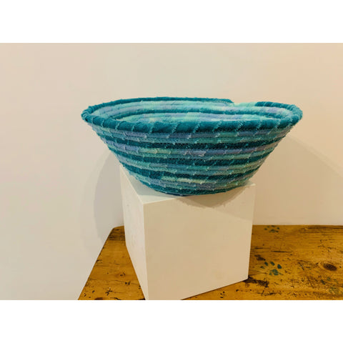 Copy of Small Blue Woven Basket