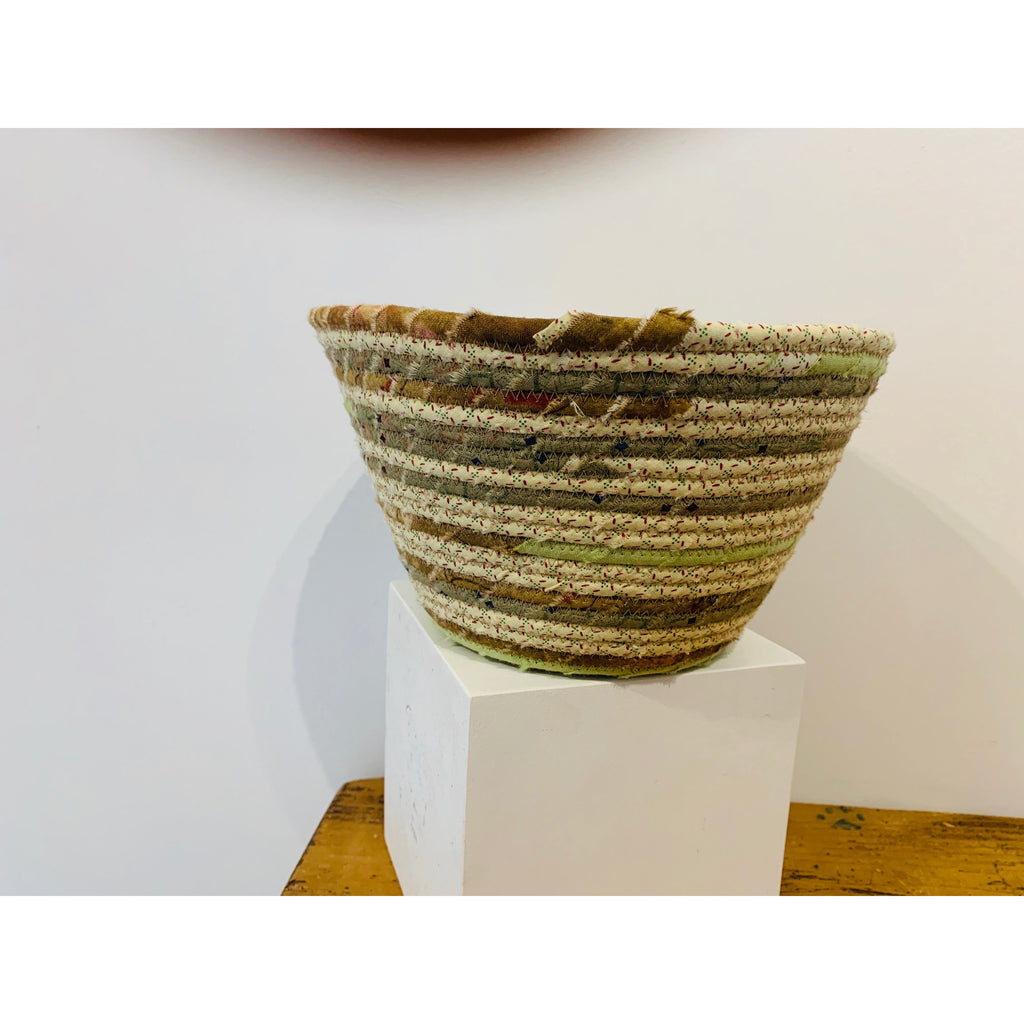Large Golden Brown Woven Basket