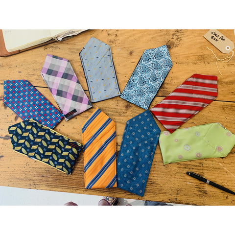 Glasses case made from Ties