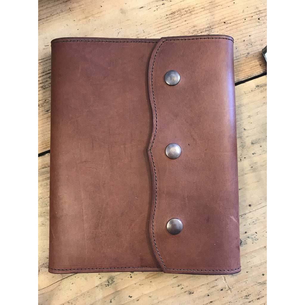 Leather Notebook Cover - Large