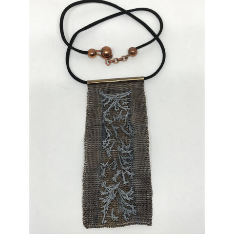 Copper Tie Necklace