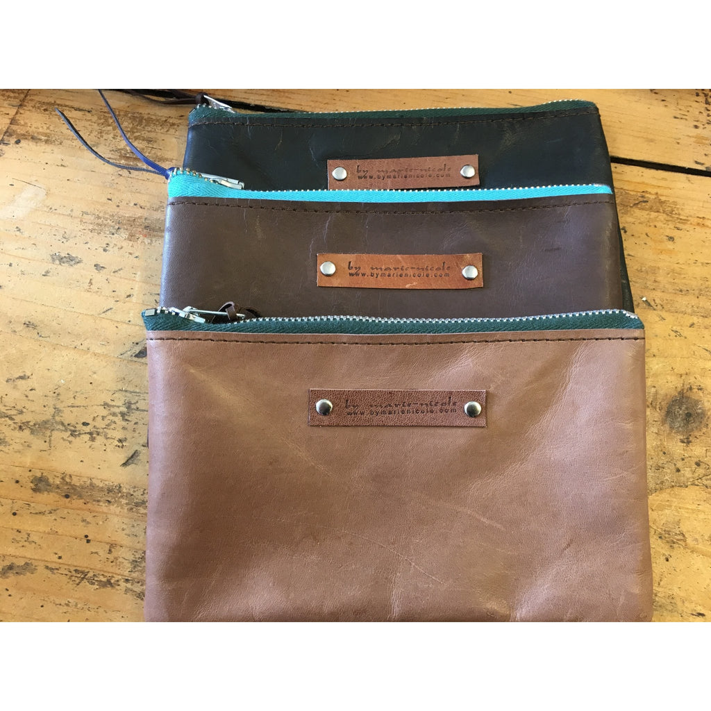 Leather Purse Medium