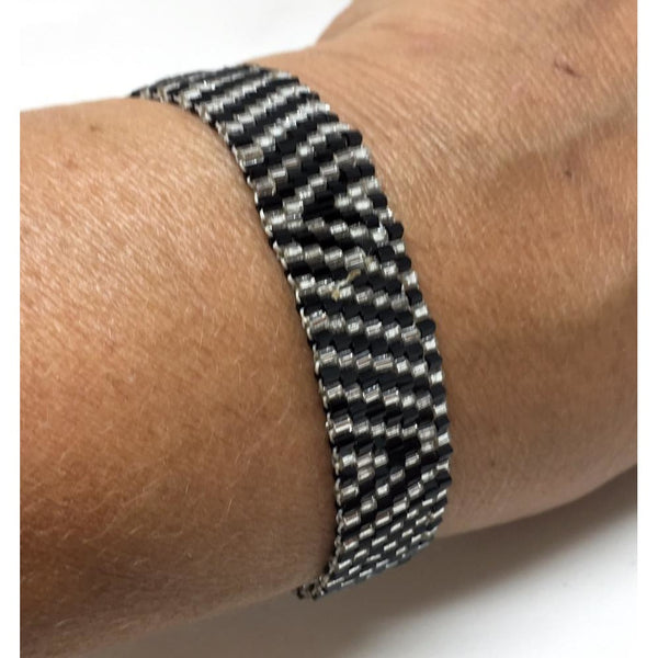 Seed Bead Cuff - Small.  Various colours available